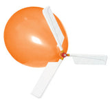 Balloon Helicopters - Classroom Set with 12 Whistle Balloon Helicopters and Air Pump