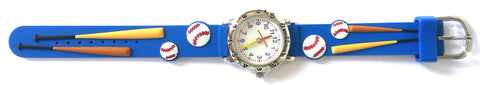The Kids Watch Company Baseball Watch One Size Blue Band