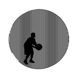 Basketball Player Medium 5.5 Inch CineSpinner Animated Suncatcher