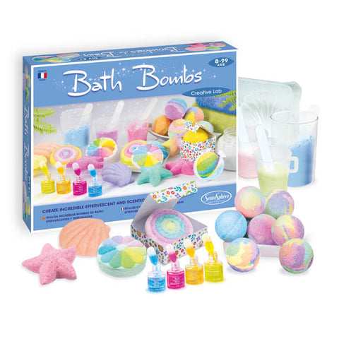 Creative Lab Bath Bombs Kit by SentoSphere