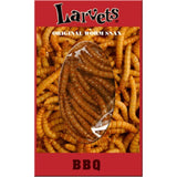 BBQ Flavored Larvets Worm Snax, Box of 24, by Hotlix