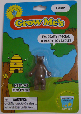 Grow Me's Bear: Collectible Magic Growing Thing