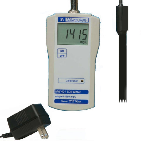 BEM401 TDS/PPM Mini-Bench Meter, by Milwaukee Instruments