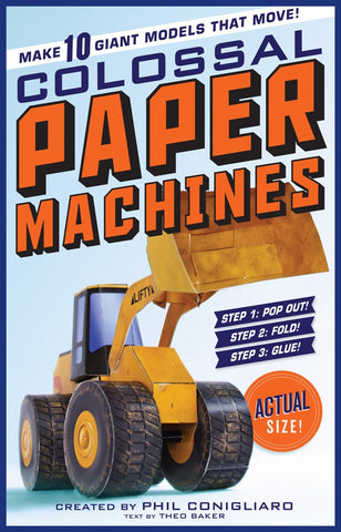 Colossal Paper Machines - Model Building Activity Book