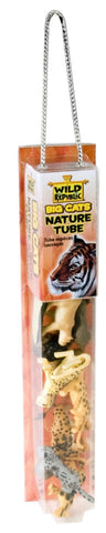 12 Piece Big Cats Nature Tube w/Play Mat by Wild Republic
