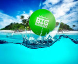 Waboba Big Kahuna Ball - 3.5 Inches -  Bounces on Water - GREEN