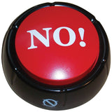 The NO! Button Electronic Voice - 10 Versions of No - Novelty Desk Toy