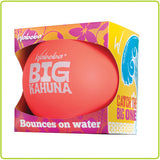 Waboba Big Kahuna Ball - 3.5 Inches -  Bounces on Water - BLUE