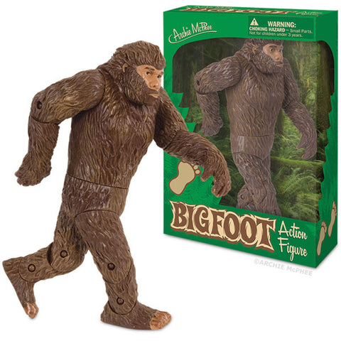 Bigfoot Action Figure By Archie McPhee
