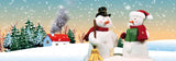 Animated  Mr & Mrs Snowman 3D Bookmark - Ruler By Emotion Gallery