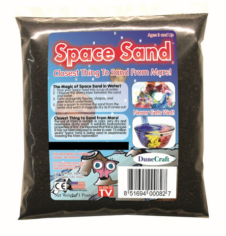 Black Space Sand: 1lb of Hydrophobic Sand