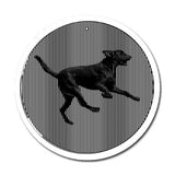 Black Lab - Large 11 Inch CineSpinner - Animated Suncatcher