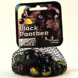 Black Panther Game Net Set 25 Piece Glass Mega Marbles