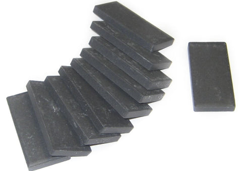 Black Streak Plates for Rocks and Minerals - Pack of 10
