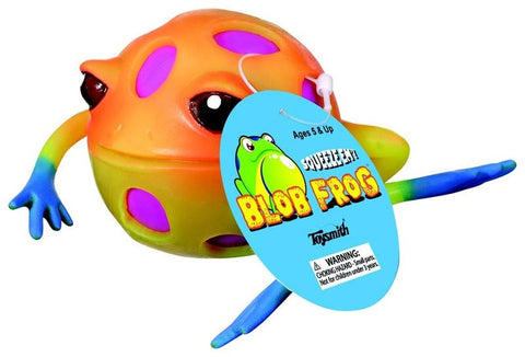 Blob Frog Squeeze Stress Ball Assorted Colors - Pack of 2