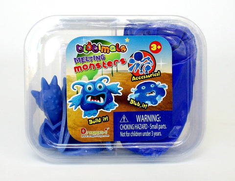 Blobimals Melting Blue Monster Blobert By Toysmith