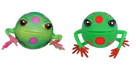 Squishy Ball Physics : Blob Frog Squeeze Stress Ball Assorted Colors - Pack of 2 ? Online Science Mall