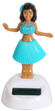 Solar Powered Dashboard Hula Girl - Set of 2