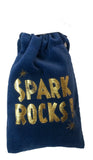 Polished Spark Rocks in Velveteen Pouch - 2 Sets