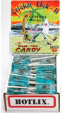 Blueberry Hotlix Cricket Licket Sucker - Box of 36 Real Insect Bug Candy Lollipops