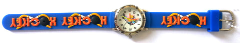 The Kids Watch Company Hockey Watch One Size Blue Band