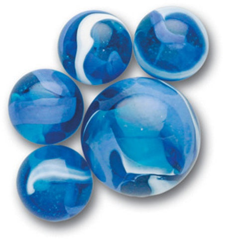 Blue Jay Game Net Set 25 Pc Glass Mega-Marbles