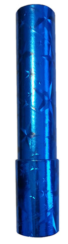 9 inch Classic Kaleidoscope Viewing Toy: Chroma Vision Holographic Blue with Stars
