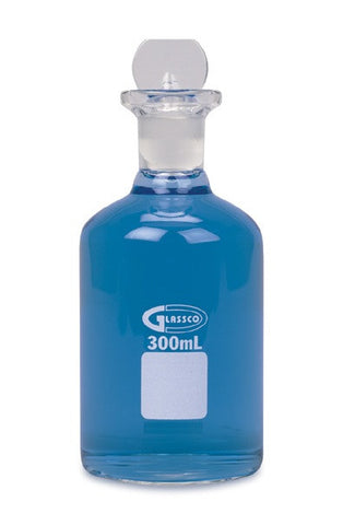 B.O.D. Bottle 300ml Borosilicate Glass BOD Bottle - Unnumbered