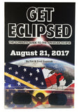 Get Eclipsed Set; Complete Guide to American Eclipse Book & 2 pr CE Certified Viewer Glasses