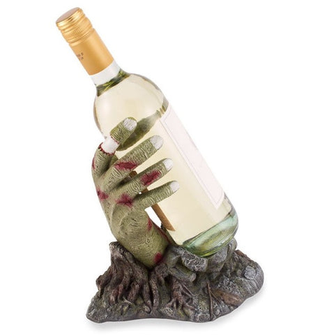 Zombie Hand Wine Bottle Holder, by Wild Eye Designs