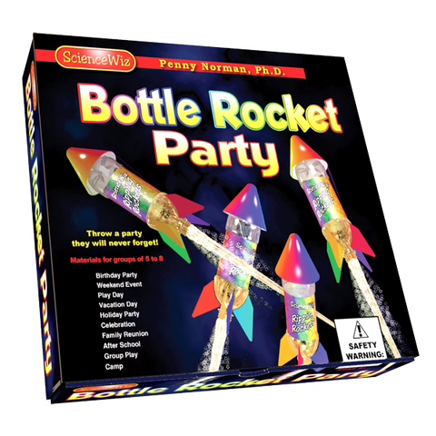 Science Wiz: Bottle Rocket Group/Party Activity Kit
