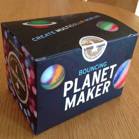 Terraforming: Bouncing Planet Maker Kit w Rocket