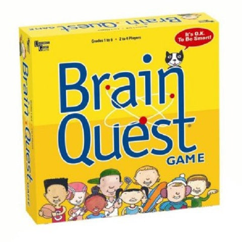 Brain Quest Board Game Grades 1-6