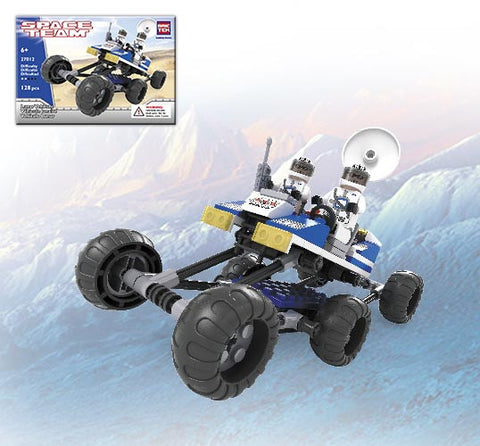 Brictek Outer Space 128 Piece Lunar Vehicle