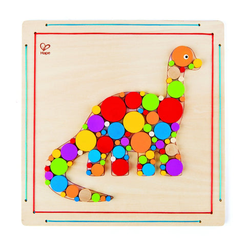 Hape Craft Kit - Brontosaurus Mosaic - 90 pc