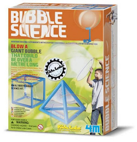 4M Kidz Labs Bubble Science Kit