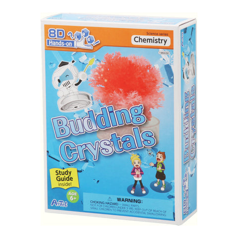 Budding Crystals Experiment Kit and Study Guide By Artec