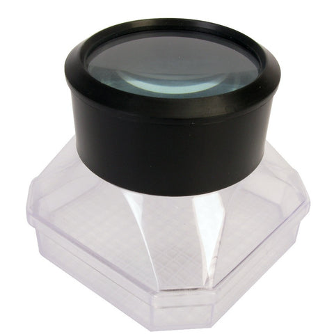 Magnifying Bug and Insect Viewer with Glass Lens & Measuring Grid