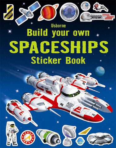 Usborne - Build Your Own Spaceships Sticker Book