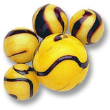 Bumblebee Game Net Set 25 Piece Glass Mega Marbles