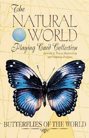 BUTTERFLIES of the Natural World Art Playing Cards