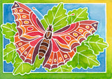Aquarelle Mini  WaterColor Arts & Crafts Kit by Ravensburger -BUTTERFLY