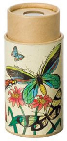 4 inch Kaleidoscope Viewer Toy: Butterflies Nature Scope