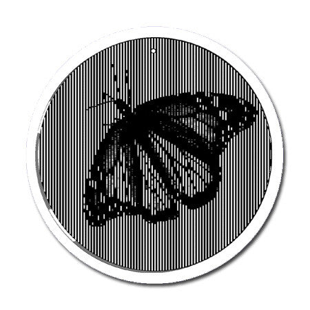 Butterfly - Large 11 Inch CineSpinner - Animated Suncatcher