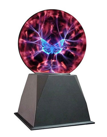 "8"" Butterfly Plasma Lamp"