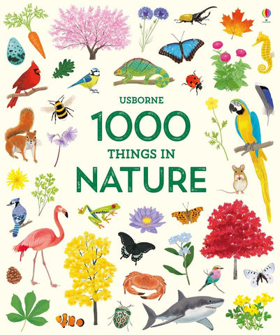 Usborne 1,000 Things In Nature Hardbound Book