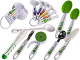 Curious Chef 30 Piece Caddy Utensil Collection