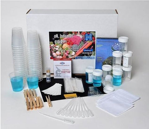 pH, Indicators, and Dyes S.T.E.M. Chemistry Kit