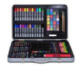 107 pc Metal Case Art Set by Art 101
