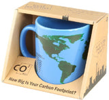 Carbon Footprint Color Changing Coffee Mug / Cup - Green Science